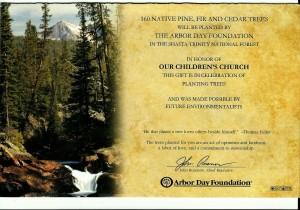 arbor day fundraiser