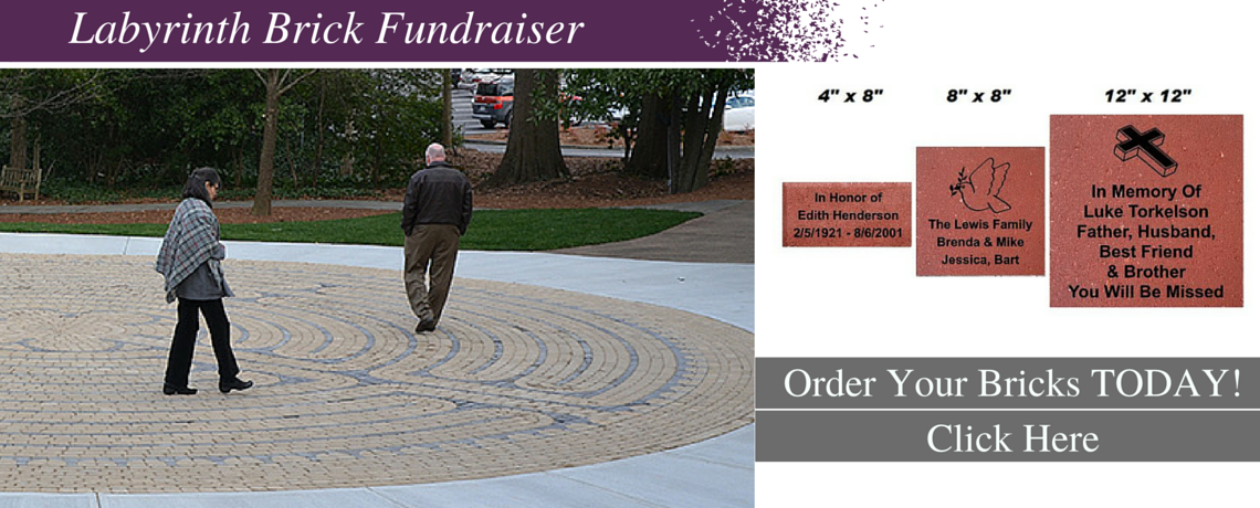 Labyrinth Brick Fundraiser