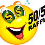 50/50 Raffle Sales! Dec 9th Drawing