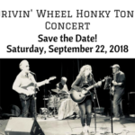 Saturday, September 22, 2018 – Drivin' Wheel Honky Tonk Concert